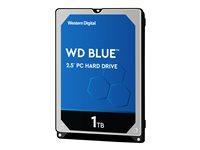 1.0 TB HDD WD Blue Mobile SATA 6Gb/s-Festplatte 7mm, 128MB