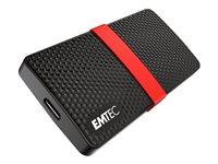 128GB Emtec Power Plus X200 externe SSD, 1x USB-C 3.0