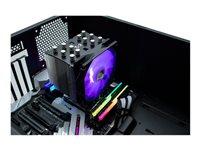 Scythe Mugen 5 Black RGB Edition CPU-Lüfter, 1x 120x120x27mm 300-1200rpm, 28.2-86.93m³/h, 4-24.9dB(A)