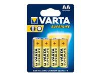 Varta SUPERLIFE Einwegbatterie AA Zink-Karbon