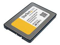 StarTech 2,5-Zoll-SATA auf Mini-SATA-SSD Adaptergehäuse