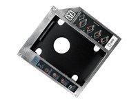 LogiLink AD0017 HDD / SSD-Gehäuse 2.5Zoll Schwarz Speichergehäuse