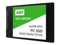 240 GB SSD WD Green, SATA 6Gb/s lesen: 545MB/s