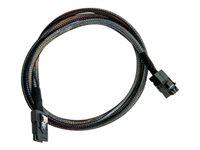 Adaptec mini SAS HD x4 (SFF-8643) auf mini SAS x4 (SFF-8087) Kabel, 0.5m
