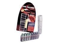 Batterie/Speicherkarten-Transportbox goobay