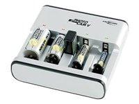Ansmann PhotoCam V Tisch-Ladegerät für bis zu 4 Akkus