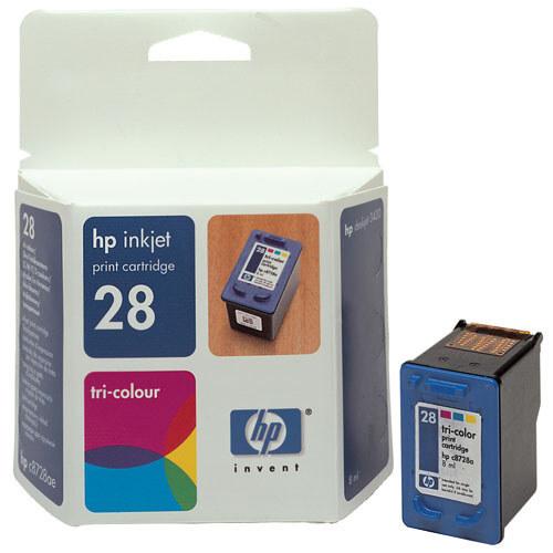 HP Tinte Nr 28  color       C8728AE