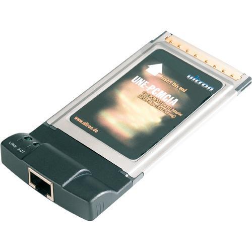 PCMCIA Karte Ultron UNE-PCMCIA, 1x 100Base-TX