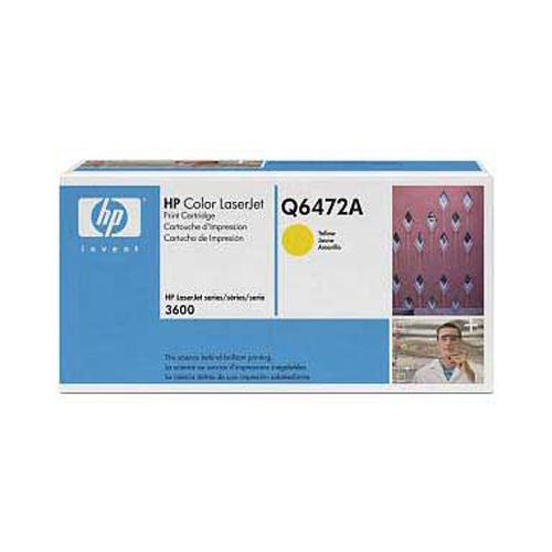 HP Toner gelb HV fuer Color Laserjet