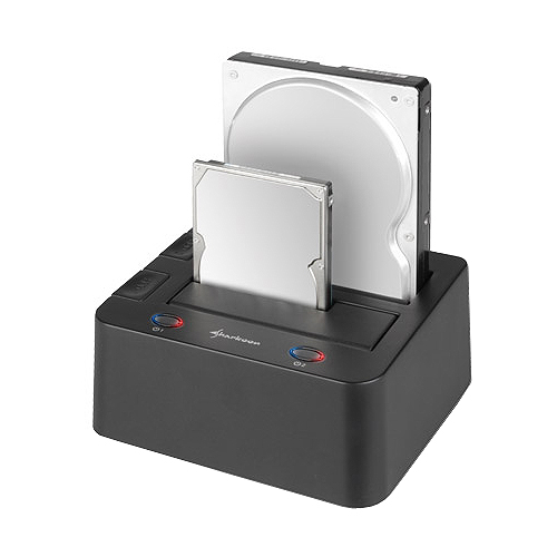 Sharkoon SATA Quickport Duo V2 USB 3.0 Dockingstation