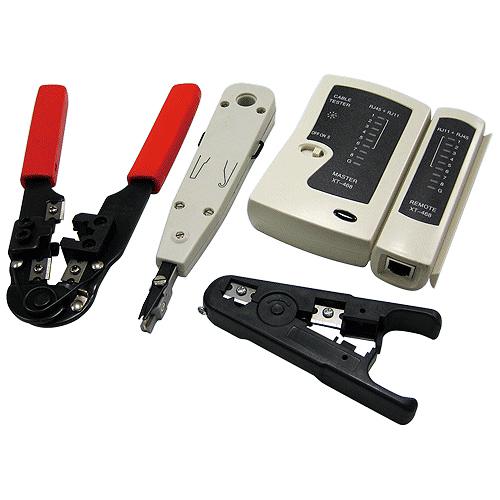 Logilink Netzwerk Werkzeug-Set mit Tasche
