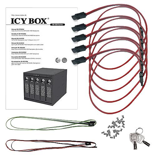 DiskArray RaidSonic ICY Box IB-555SSK