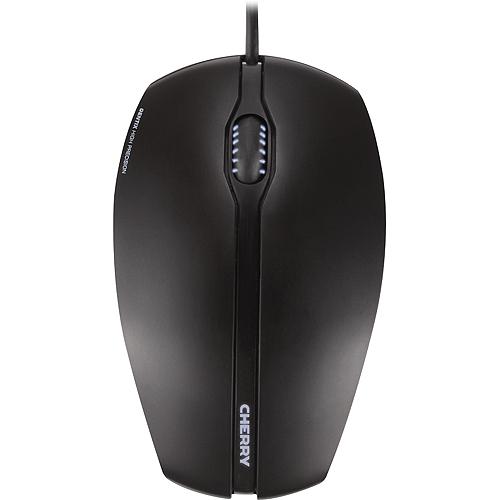 Cherry GENTIX Corded Optical Illuminated Mouse, Maus, beidhändig, kabelgebunden (1.8m), USB