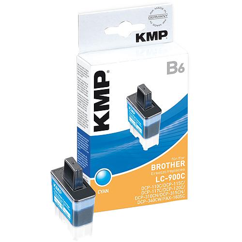 KMP B6 kompatibel zu Brother LC900C cyan