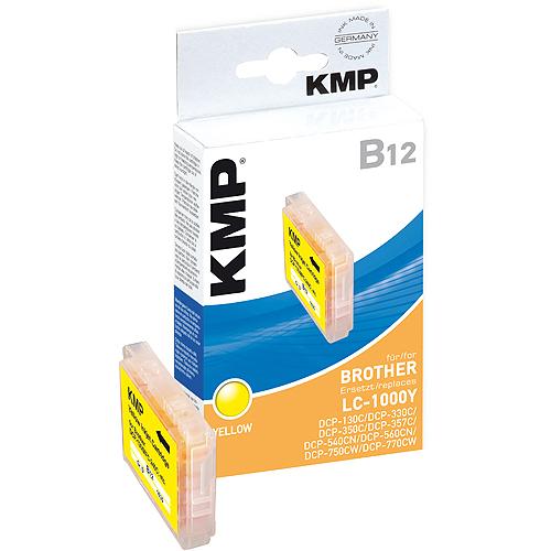 KMP B12 kompatibel zu Brother LC-1000Y yellow