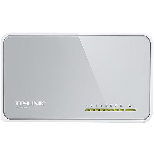 TP-LINK TL-SF1008D, 8-Port-10/100Mbps-Desktop-Switch
