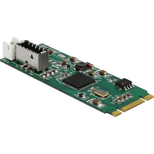 Delock Konverter M.2 Key B+M Stecker zu 1 x intern USB 3.1 Gen 2 Key A 20 Pin Buchse