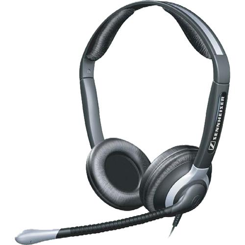 SENNHEISER CC 550 Beidseitiges Headset mit Kopfbugel mit XL Ohrpolstern